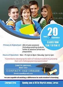 Math Tutor Casula Liverpool Area Preview