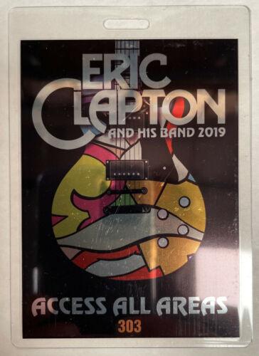 ERIC CLAPTON 2019 AAA LAMINATED BACKSTAGE PASS