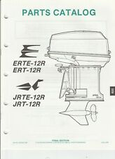 1988 OMC Evinrude Outboard Parts Catalog ERTE ETR 12R JRT