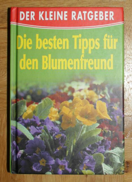 """Buch, Ratgeber """"Die besten Tipps für den Blumenfreund"""""""