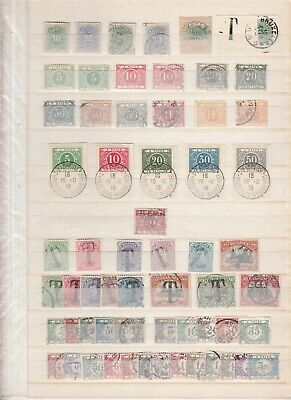 BELGIUM nice revenues collection MH/Used (CV $500 EUR434)