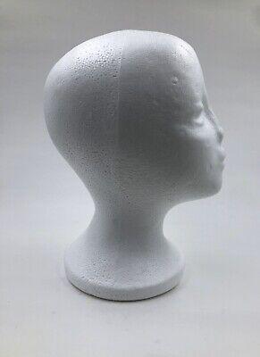 10.5 Wig Styrofoam Head Foam Mannequin Display 2 Pieces