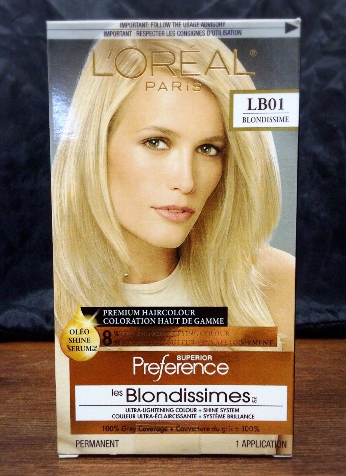 LOreal Paris Superior Preference Hair Dye Color # LB01 Extra