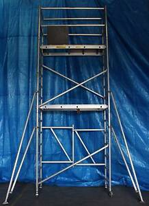 Aluminium Mobile Scaffold Tower Platform height 3.3m Model F44 Archerfield Brisbane South West Preview
