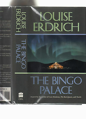 Louise Erdrich The Bingo Palace Signed Like New 1St 1994 Hb J Fn Native American