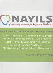 Community work and training support service Nambour Maroochydore Area Preview