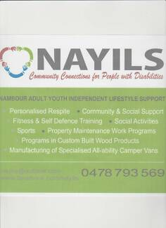 Community work and training support service
