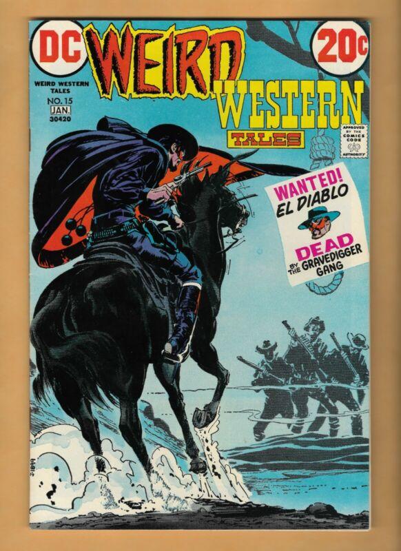 WEIRD WESTERN TALES #13 & #15 - NEAL ADAMS ART!