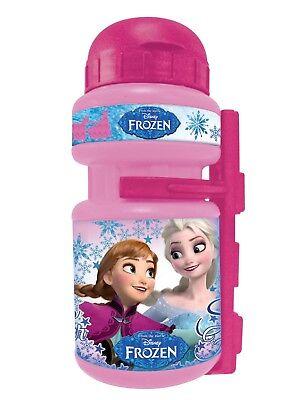 Bidon y Portabidon Infantil Niña de Bicicleta Disney Frozen Winter Magic 6166