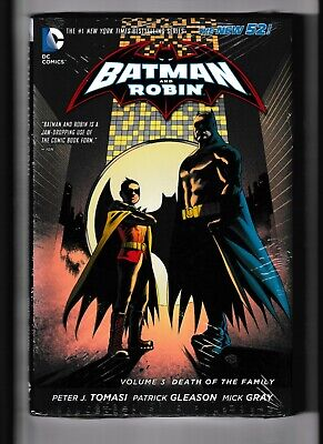 Batman and Robin Vol 3:Death of the Family Hardcover,Sealed,DC; $4 FlatRate (Batman And Robin Death Of The Family)