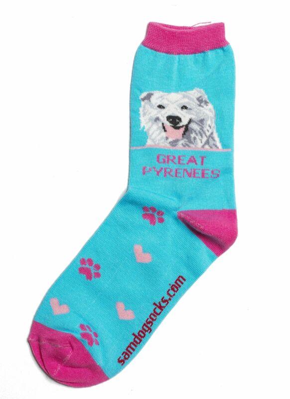 Great Pyrenees Dog Socks