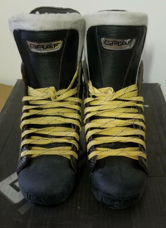 Graf Supra G5 Top Lite Ice Skate Boots 7.5R