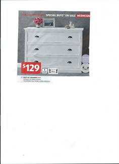 Chest of drawers New still in box.    115 w x 85 h x 40 d