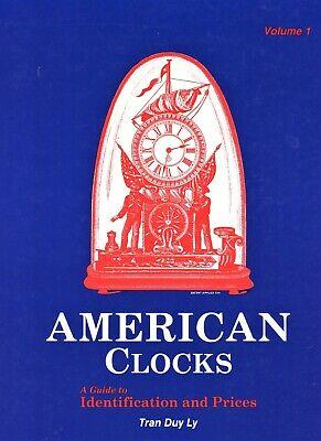 Antique American Clocks Identification - Makers Models Dates / Scarce Book