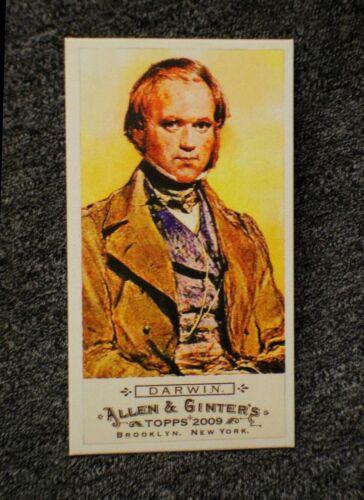 Charles Darwin BAZOOKA BacK 2009 Topps Allen & Ginter mini 116 LiMiTeD #d/ 25 !