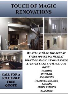 Painting, drywall flooring and more..