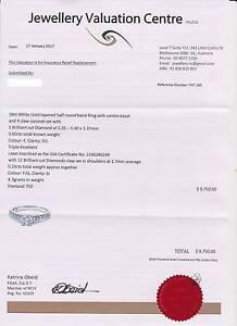 $10K GIA Diamond Engagement Ring - Colourless & Eye Clean! Melbourne CBD Melbourne City Preview