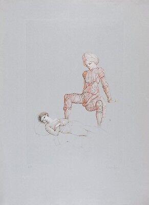 Leonor FINI S/N Etching Conte de la 672 ème Nuit (Erotic) V - 1981