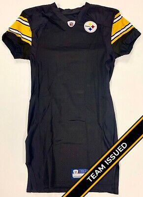 Pittsburgh Steelers Team Issued Reebok Home Jersey Uniform Back Stock (Reebok Steelers Jersey)