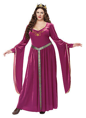 Lady Guinevere Adult Plus Size Costume - Lady Guinevere