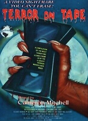 Cult Halloween Movies (Terror On Tape Starring Cameron Mitchell & Michelle Bauer on)