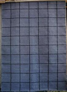 New 250x350 Shaynna Blaze Resolve Ink Wool Flatweave Rugs Melbourne CBD Melbourne City Preview