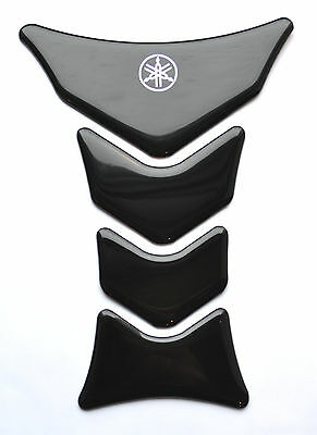 Yamaha YZF YZF-R1 R6 FZ1 FZ8 FZ6 Polyurethane Black tank pad Protector Sticker  for sale  Brooklyn