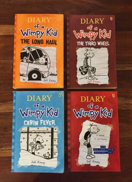 Dairy Of A Wimpy Kid Mine Craft Books Very Good Condition