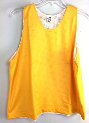 Athletic Specialties Adult Athletic Pull Over Mesh Scrimmage Vests Gold 3 -