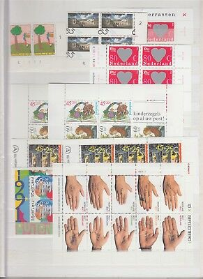 NETHERLANDS strong MNH collection 1970-2000s (CV $500 EUR450)