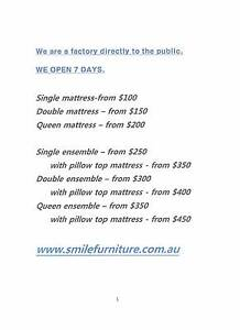 Brand New Mattress and Base Direct from Sydney Maker Ultimo Inner Sydney Preview