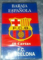 Baraja Española Del F.c Barcelona_40 Cartas_new Sealed -  - ebay.es