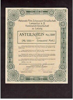 Nationale Film-Schauspiel-Gesellschaft Lampadius & Co. KGaA 1921 ungeloch