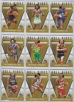 2018-19 Donruss Basketball HALL KINGS Insert ~ U pick Buy 5 Get 3 FREE