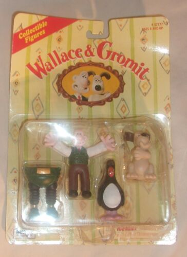 WALLACE AND GROMIT COLLECTIBLE FIGURES NEW IN CARD