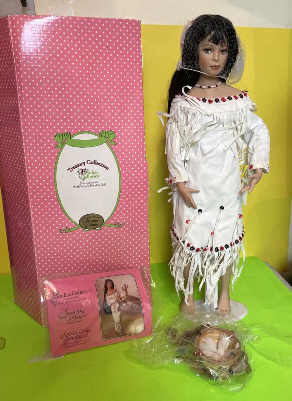 """""""A Native American Bride"""" by Tom Francirek """"Swirling Waters""""."""