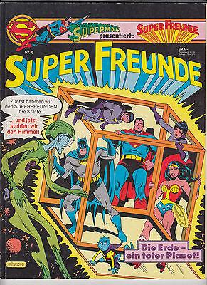 SUPERMAN präs.    Super Freunde   Nr. 8   mit Sammel-Eck   Ehapa   Z2+   CS231