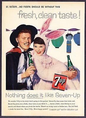 1958 Seven-Up 7-Up Bottle photo