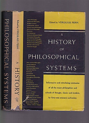 History of Philosophical Systems, ed. Vergilius Ferm, 1950, 1st ed HC w/DJ, used for sale  Shipping to India