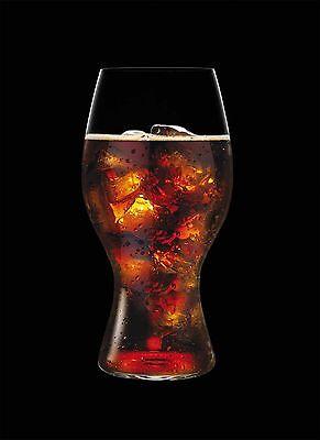 Coca Cola Glas Riedel Tube Neuheit 2014 Colagläser OVP 1.Wahl 2414/21 (Neuheit Gläser)
