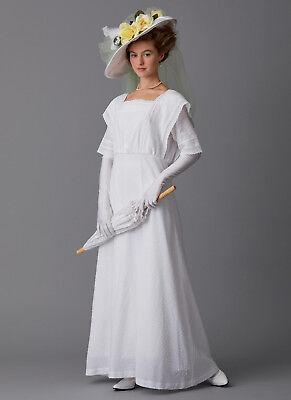 Schnittmuster Butterick B 6610: Historisches Kostüm für (Nähen Muster Für Kostüm)