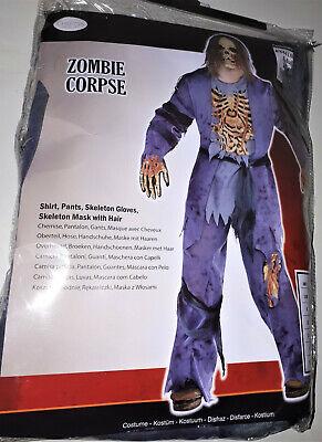 Jungen Zombie Corpse Kostüm Toter Karneval Halloween 8-10 Jahre