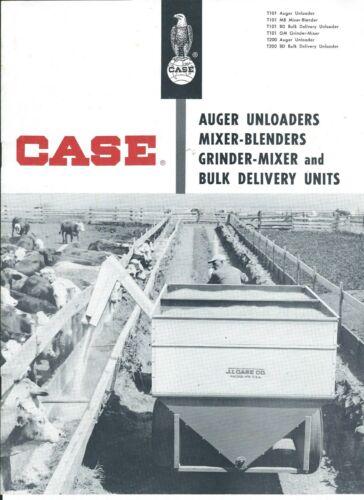 Farm Equipment Brochure - Case - T101 T200 Auger Unloader et al c1960