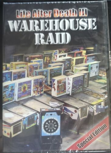 Life After Death - Warehouse Raid (DVD) NEW, Free Ship - 10% to Project Pinball