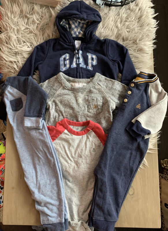 Gap Baby Clothing Lot Size 6-12 Months Boy Clothes 5 Piece