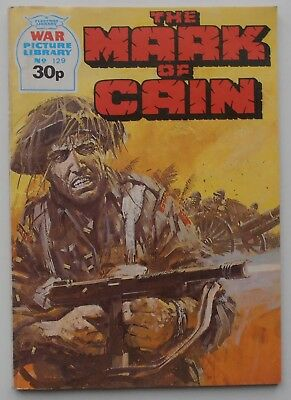 WAR PICTURE LIBRARY THE MARK OF CAIN  ISSUE 129 1987