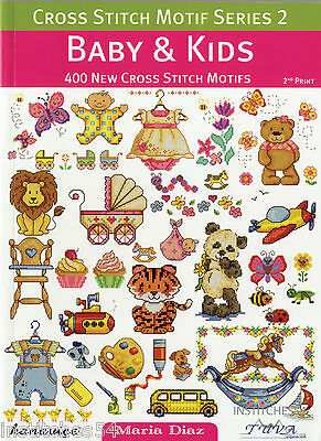 DMC Cross Stitch Motif Series 2 Chart Book  Baby And Kids