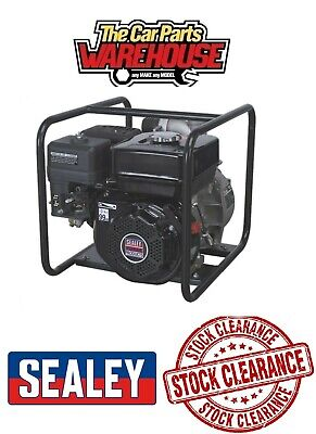 SEALEY EWP050 Water Pump Ø50mm 7.0hp Petrol Engine CLEARANCE
