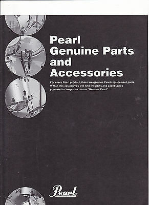 VINTAGE MUSICAL INSTRUMENT CATALOG #10546 - 1997 PEARL DRUM PARTS & ACCESSORIES