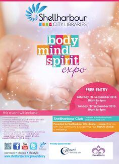 Shellharbour City Libraries Body Mind Spirit Expo Shellharbour Shellharbour Area Preview
